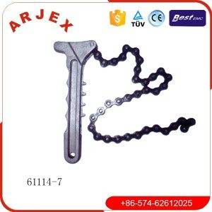 61114-7 Oil filter spanner with chain
