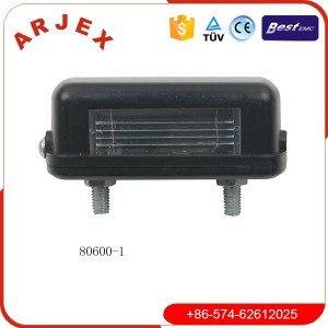 80600-1number plate light