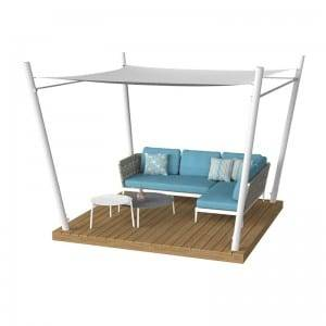 Factory wholesale Space Saving Outdoor Furniture -