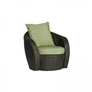 China OEM Comfort Seat Relaxing Leisure Outdoor Living Room Chairs LOTUS