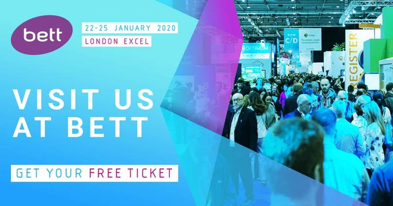 Welcome to visit us in BETT Show