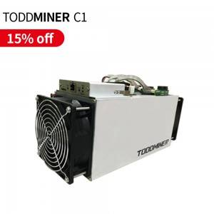 High Quality Cooldragon Brand New TODDMINER C1 1.6T for mining machine TODDMINER Miner with 1200W CKB Miner Asic Stock Miner Store Wholesale