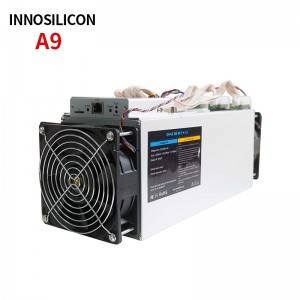 Used Innosilicon A9 ZMaster Equihash 50ksol/s 620W Zcash asic miner