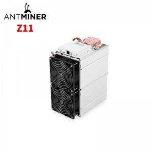 Wholesale Discount Factory Supply antminer z11j hashrate installation antminer z11j with great price Asic Miner Store Miner Wholesale