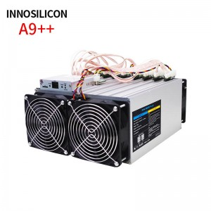 Innosilicon A9++ zmaster 140ksol newest version for crypto mining