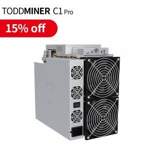 Ordinary Discount New high hashrate Toddminer C1 pro 3TH/S Asic Miner antminer s19 Power c1pro CKB bitcoin machine asic miner store miner wholesale