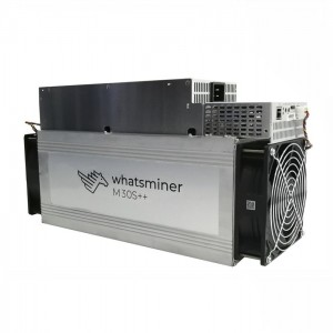 High Hashrate whatsminer Bitcoin mining machine M30S++ 112Th/s bitcoin miner mining machine