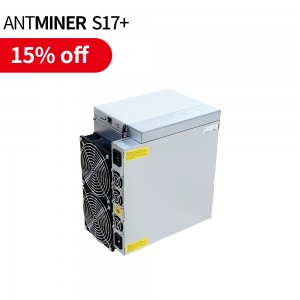 QuinnTek Bitmain Antminer S17+ S17 plus 76T bch bh bct miner brand new in stock