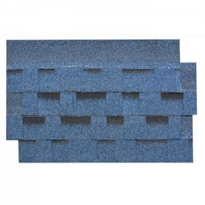 Burning Blue Laminated Asphalt Roof Shingle