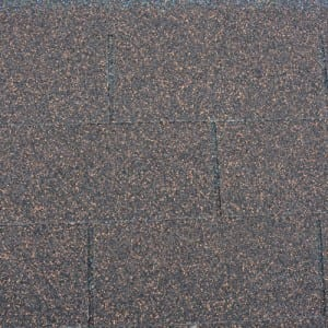 Brown Wood 3 Tab Asphalt Roof Shingle