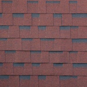 Asian Red Laminated Asphalt Roof Shingle
