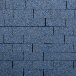 Harbor Blue 3 Tab Asphalt Roof Shingle
