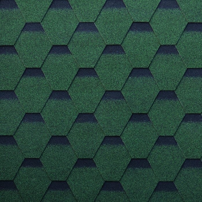 Chateau Green Hexagonal Asphalt Roof Shingle Featured Image