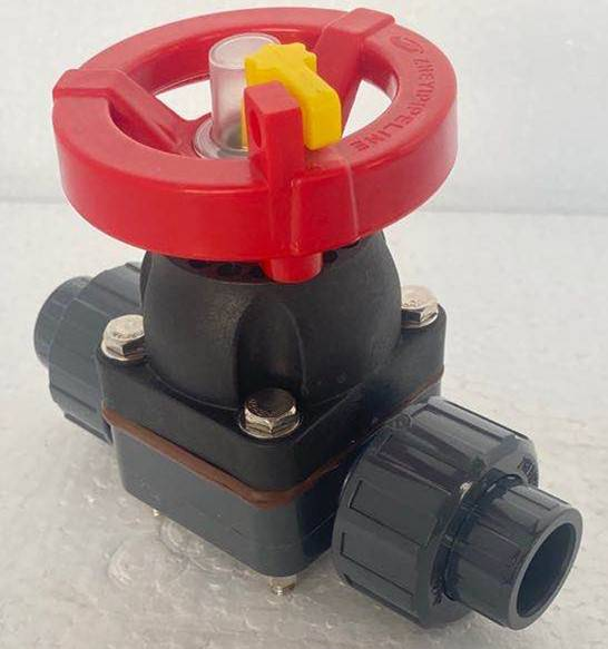 durable quality factory direct sale upvc double union diaphragm valve 20mm to 63mm Featured Image