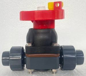 big sale wholesale 1/2″ to 2″ EPDM seat PVC double union diaphragm valve
