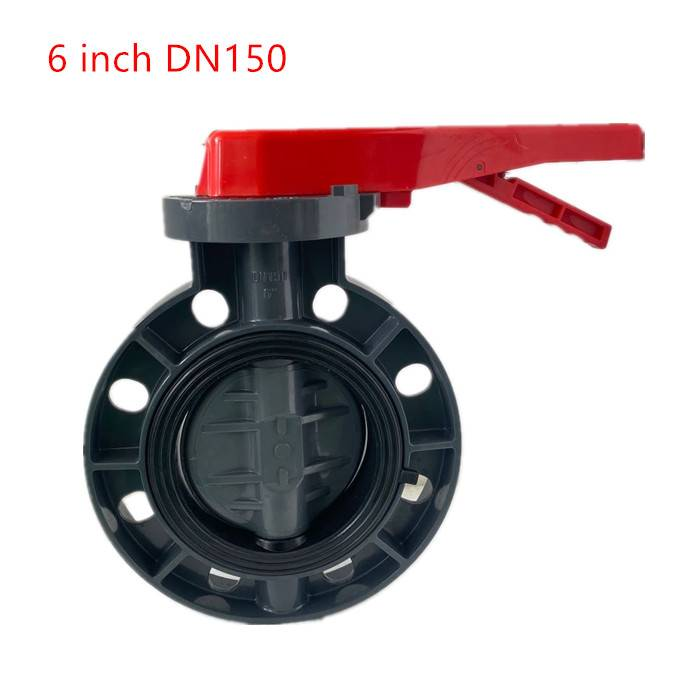 11 years factory wholesale price manual gearbox upvc butterfly valves Featured Image