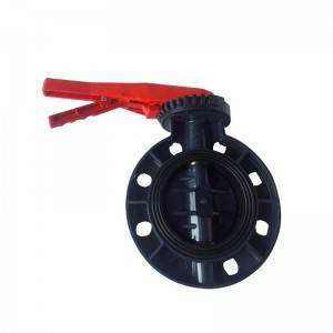 UPVC valve butterfly type Handle Pads