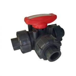 3 way ball valve BSPT thread