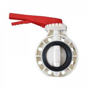 ABS butterfly type valve Handle