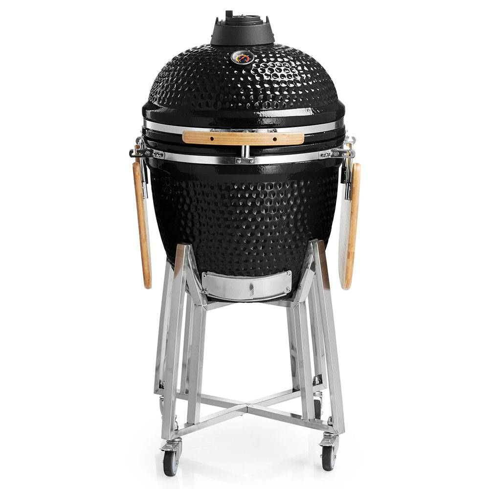Auplex Large EGG 21 Inch BBQ Grill Ceramic Kamado Featured Image