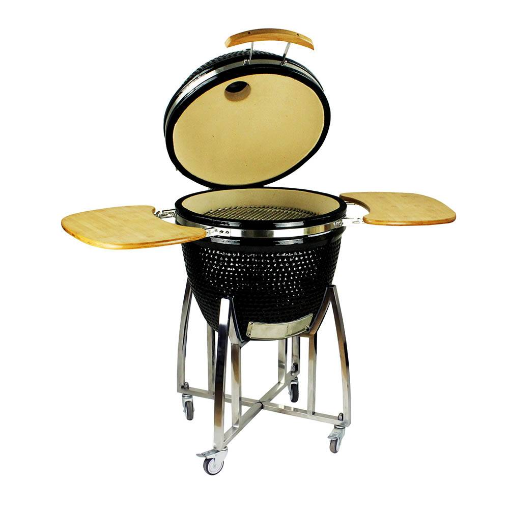 Auplex XL Large Egg Outdoor 23.5 Inch Ceramic Egg BBQ Grill Featured Image