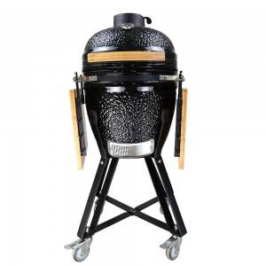 Auplex Medium Egg BBQ Ceramic Kamado Barbecue Grill
