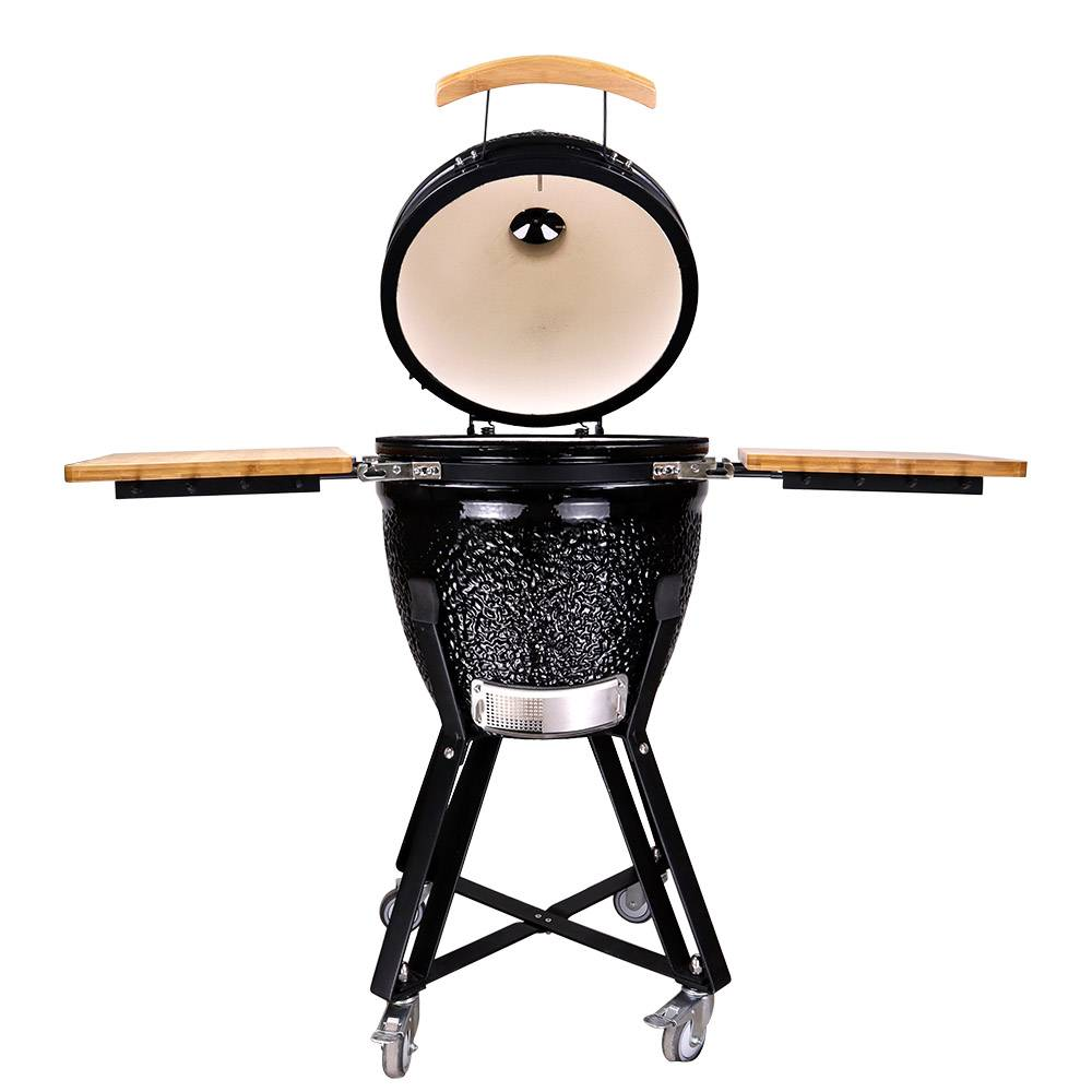 Auplex Medium Egg BBQ Ceramic Kamado Barbecue Grill Featured Image