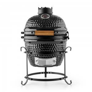 Auplex Mini Egg Barbecue Grill Ceramic Charcoal...