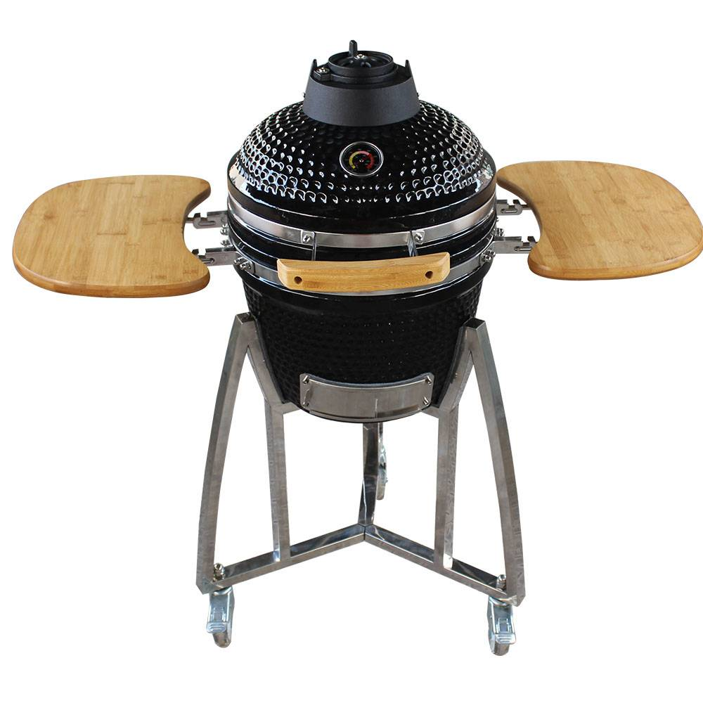 Auplex Small Charcoal Egg Grill Outdoor Ceramic BBQ Grill Featured Image