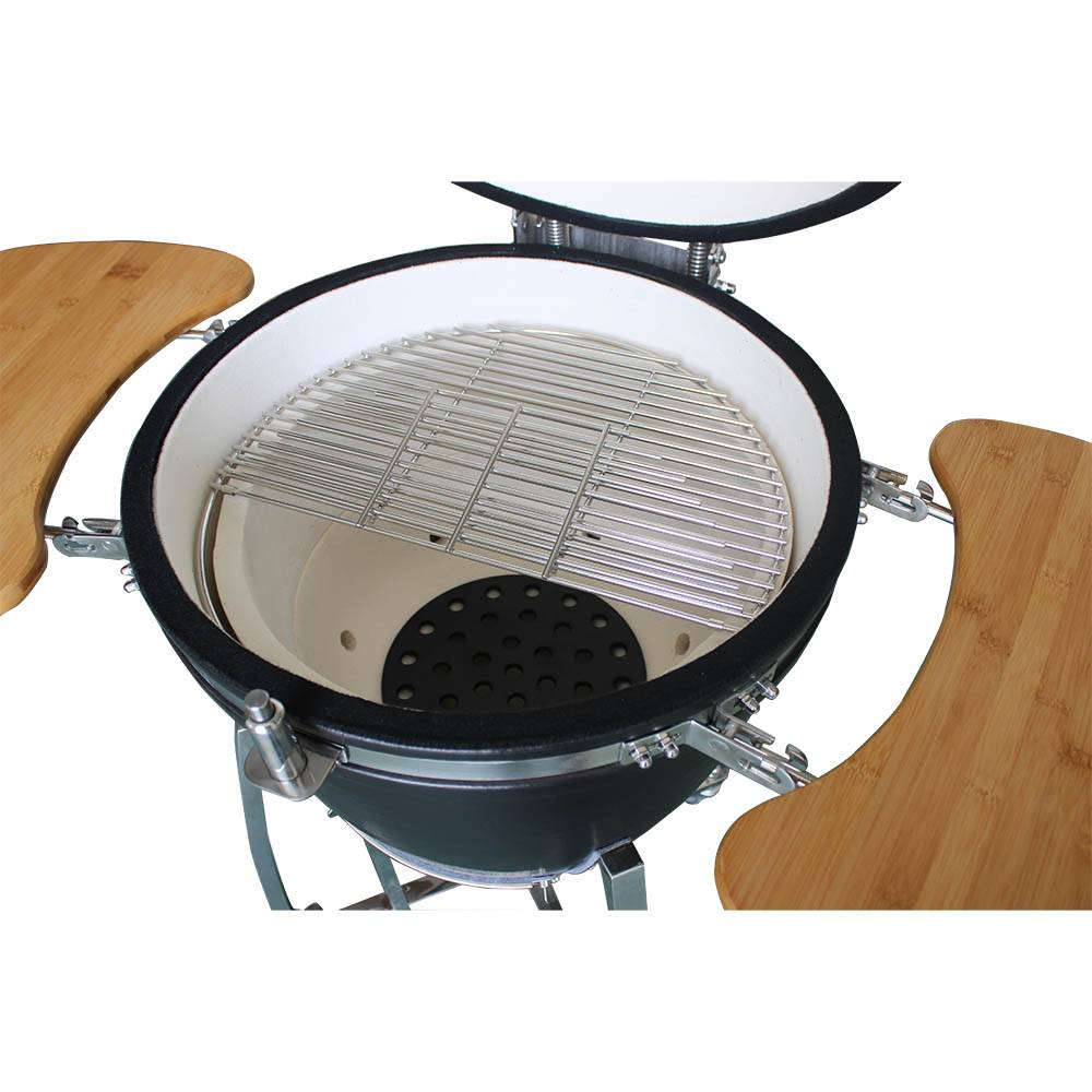 Auplex X Large 21 inch Glossy Ceramic Kamado Grill Featured Image