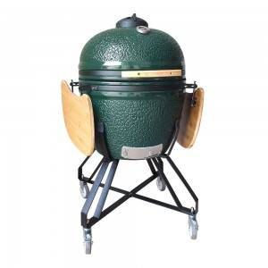 Auplex XL Large 27 inch Big Black Egg Kamado Grill