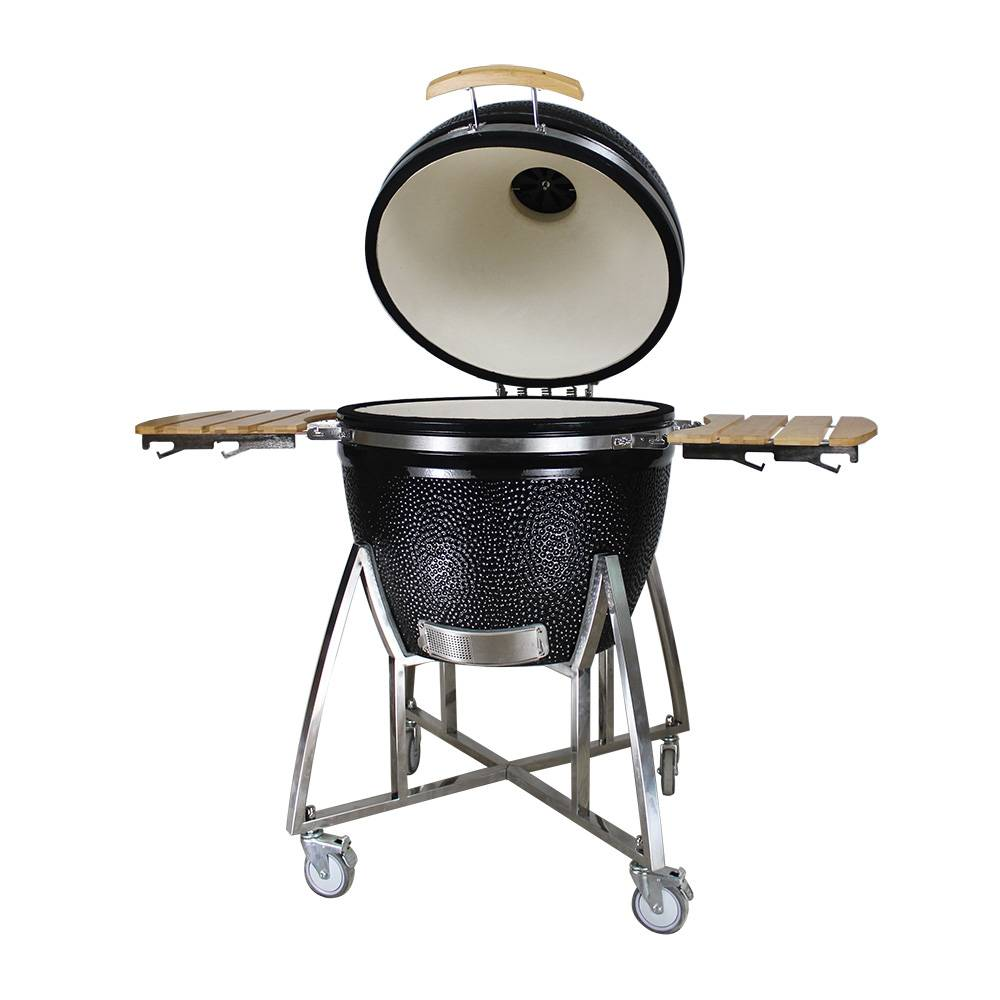 Auplex 2XL Large 27 Large Egg inch Charcoal Ceramic Kamado Grill Featured Image