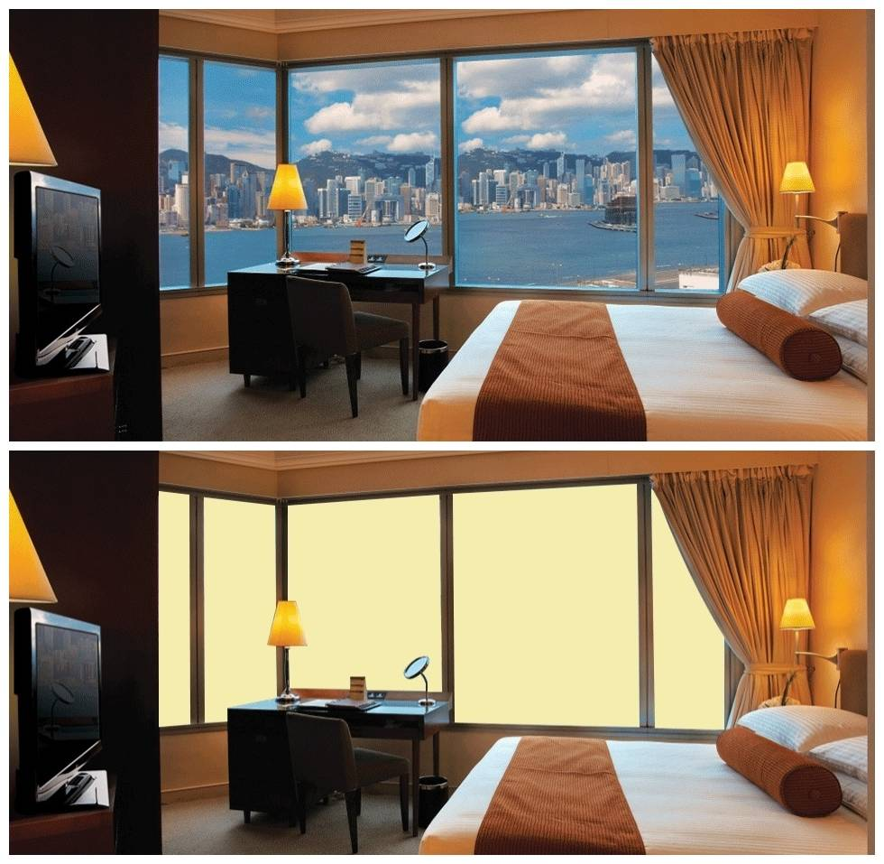 Switchable Magic Pdlc Smart Film For office hotel Window and shower Room Featured Image