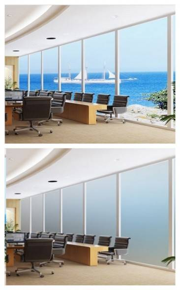 Switchable Magic Pdlc Smart Film For office hotel Window and shower Room