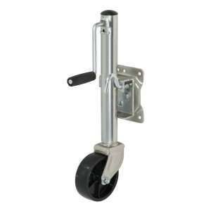 Marine Trailer Jack With 6″ Wheel (1,500 Lbs., 10″ Travel, Packaged) #JY-JT-05