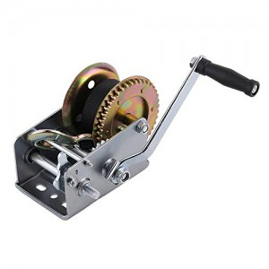 Hand Winch (2000 Lbs., Gear Ratio 4:1/8:1 Stape Size:8m) #JY-HW-08B