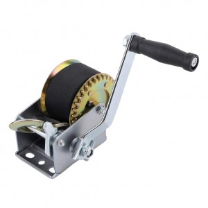 Hand Winch (1000 Lbs., Gear Ratio 4:1 Stape Size:7m) #JY-HW-03B