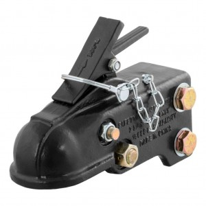 2-5/16″ Channel-Mount Trailer Coupler With Easy-Lock (15,000 Lbs., Black) #JY-TC-12