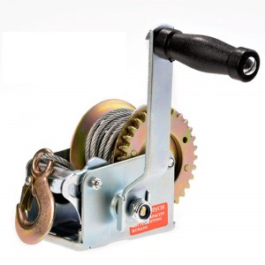 Hand Winch (800 Lbs., Gear Ratio 3.2:1 Stee Size:4.5mmx8m) #JY-HW-02S