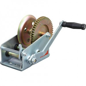 Hand Winch (1600 Lbs., Gear Ratio 4:1/8:1) #JY-HW-08