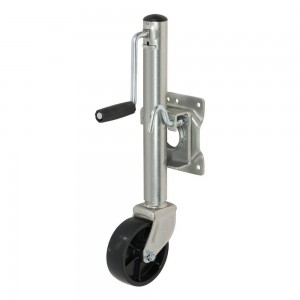 Marine Trailer Jack With 6″ Wheel (800 Lbs., 10″ Travel, Packaged) #JY-JT-01