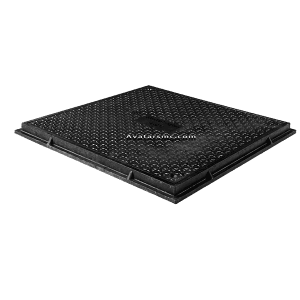 SF600B125-101 EN124 European standard EN124 manhole cover