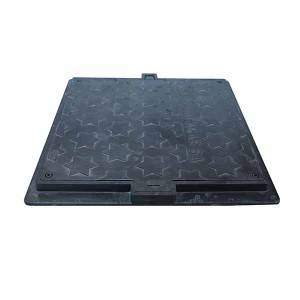 SF600B125F-102 EN124 European standard EN124 manhole cover with lock