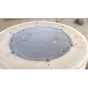SY900D210 D210 Ductile Cast Iron Manhole Cover