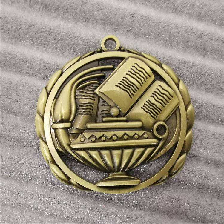 book stock medals antique plating