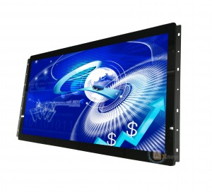 "Map Station Open Frame Touch Monitor 24"" Full HD 12V DC In With Hdmi AV VGA Input"