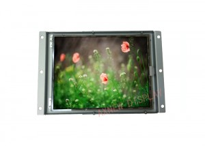 1024×768 IPS Lcd Open Frame Monitor LED Backlight Based 10.4 Inch Vetical Installation