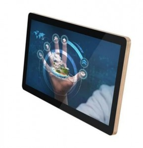 Wide Capacitive Multi Touch Panel PC Waterproof dual Core 1600×900 Resolution