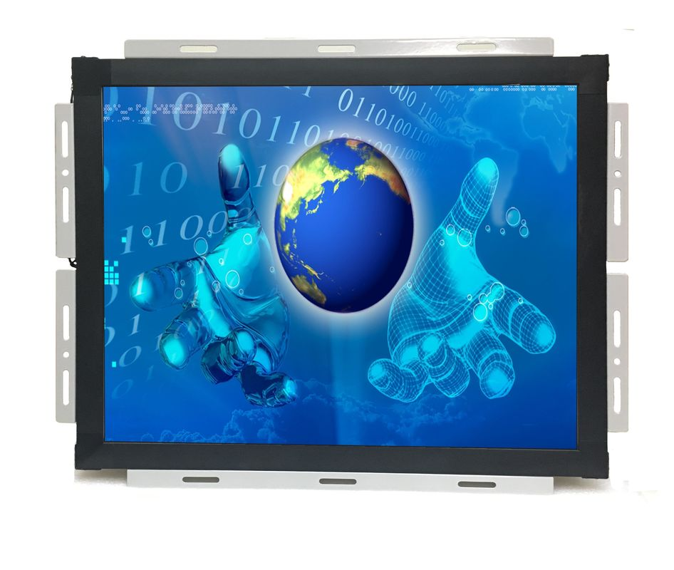 Rugged Digital 19 inch Open Frame LCD monitor with Saw touch waterproof vandal proof