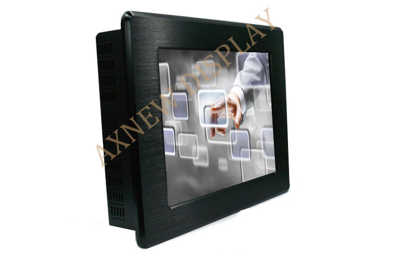 IP65 Infrared Industrial LCD Monitor , 160/160 Wide Screen Display